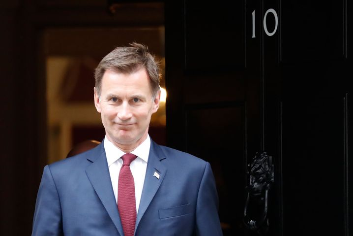 Er will Boris Johnson besiegen: Jeremy Hunt
