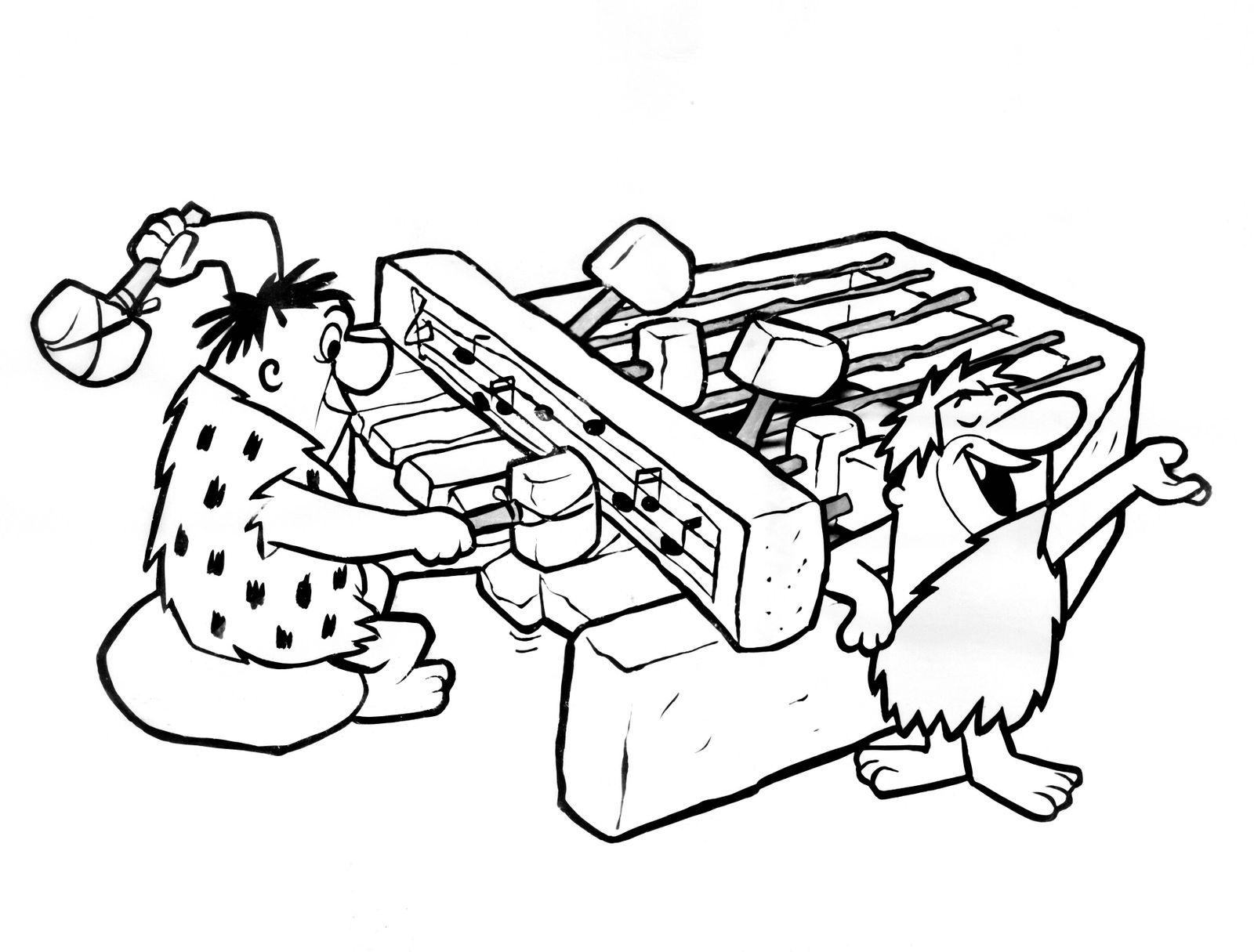 THE FLINTSTONES, Fred Flintstone, Barney Rubble, (early incarnations), 1960-66 Courtesy Everett Collection !ACHTUNG AUFN