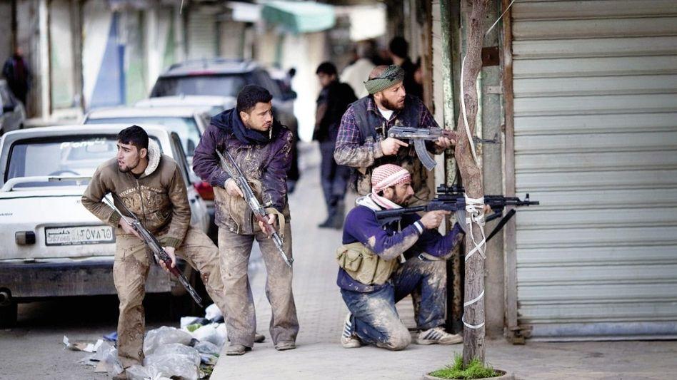 Aufständische im nordsyrischen Idlib: »Wie lange wird es noch dauern?«
