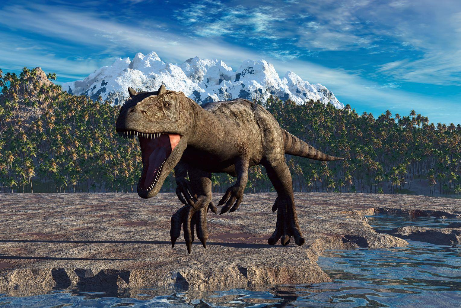 dinosaurier trexverwandter allosaurus jagte wie falke