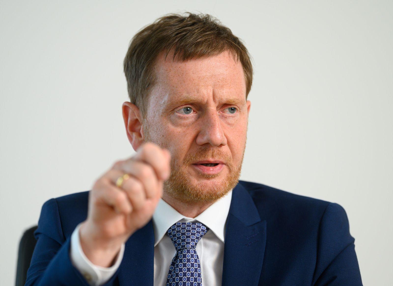 Sachsens Regierungschef Michael Kretschmer