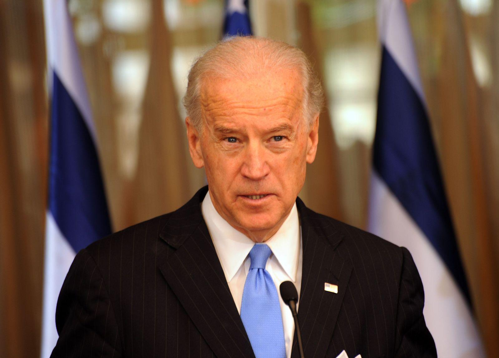 US VICE PRESIDENT JOE BIDEN MEETS ISRAELI PM BENJAMIN NETANYAHU