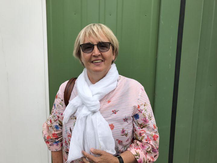 Hamburg refugee helper Christine Simon-Noll
