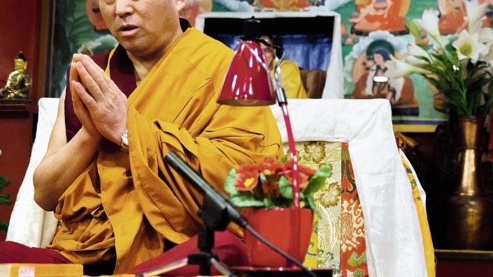 Stille, Gebet, Studium: Mönch Geshe Pema Samten