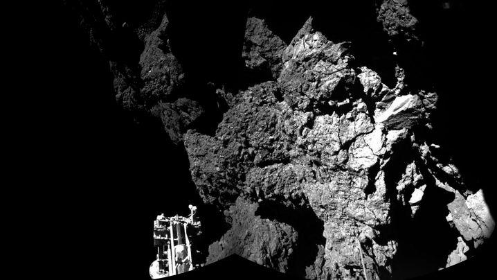 """""""Rosetta""""-Mission: Impressionen von Tschuri"""