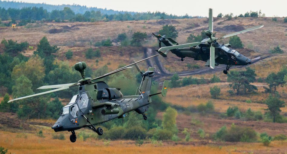 Kampfhubschrauber der Bundeswehr