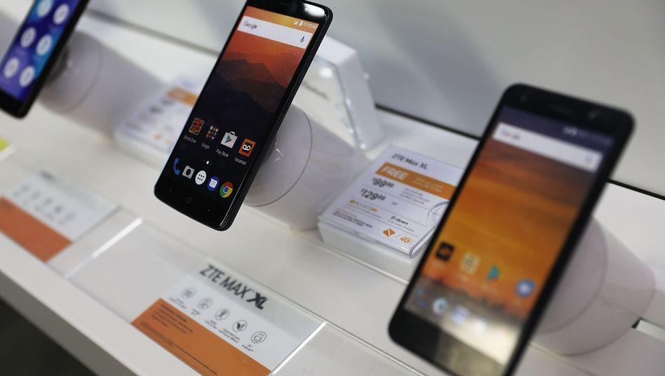 Mobiltelefone von ZTE