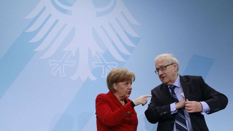 """Kanzlerin Merkel, Wirtschaftsminister Brüderle: """"Entscheidungen nicht immer rational"""""""