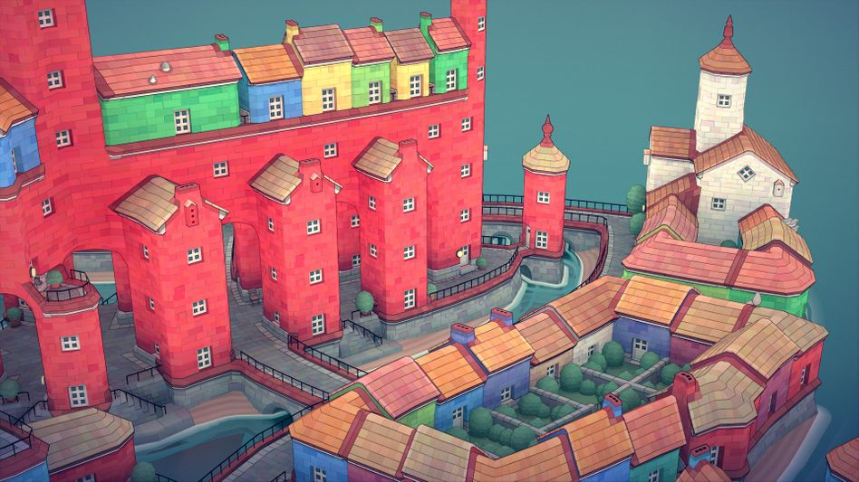 »Townscaper«, einer von insgesamt zehn Videospiel-Tipps