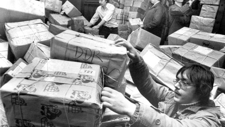 """Westpakete: """"Geschenksendung - keine Handelsware"""""""