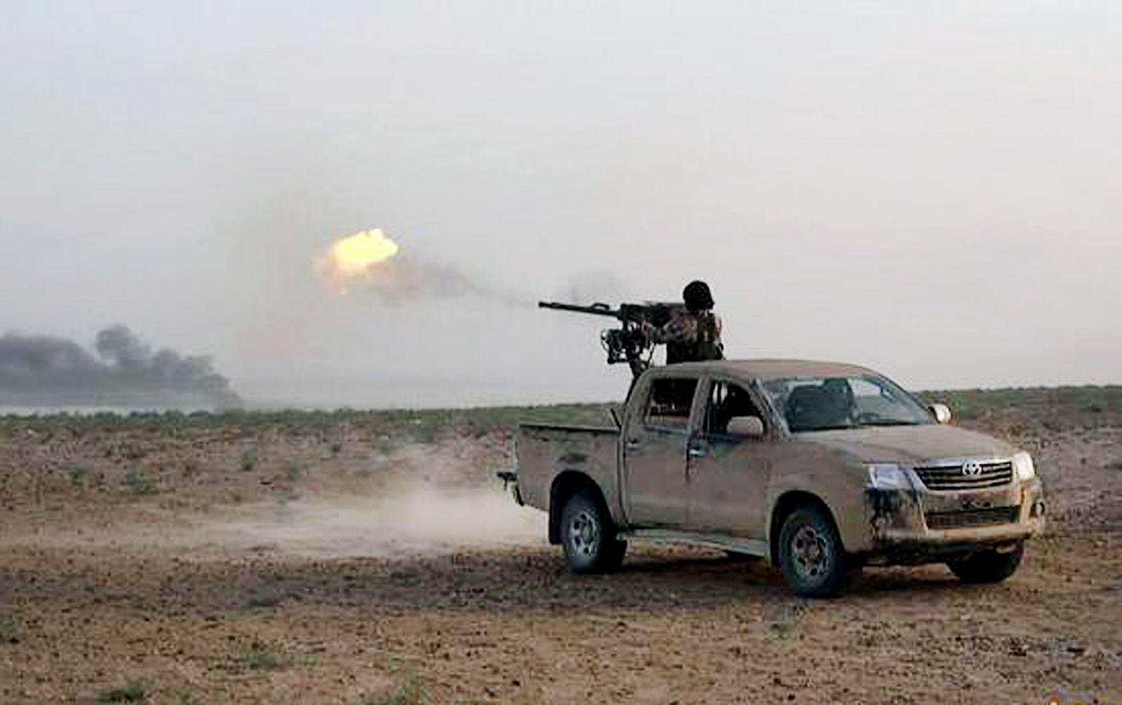 EINMALIGE VERWENDUNG Syria / Homs / Palmyra