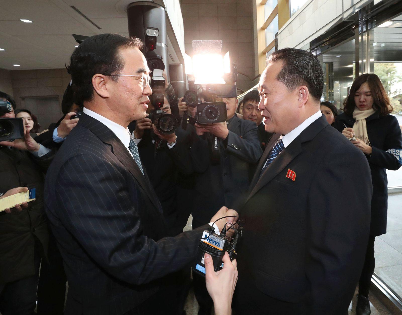 Gespräche zwischen Nord- und Südkorea