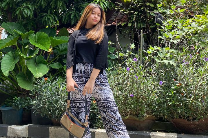 Allysa Irwansyah wartet in Depok, Indonesien, darauf, endlich ihre Au-pair-Stelle in Deutschland antreten zu können