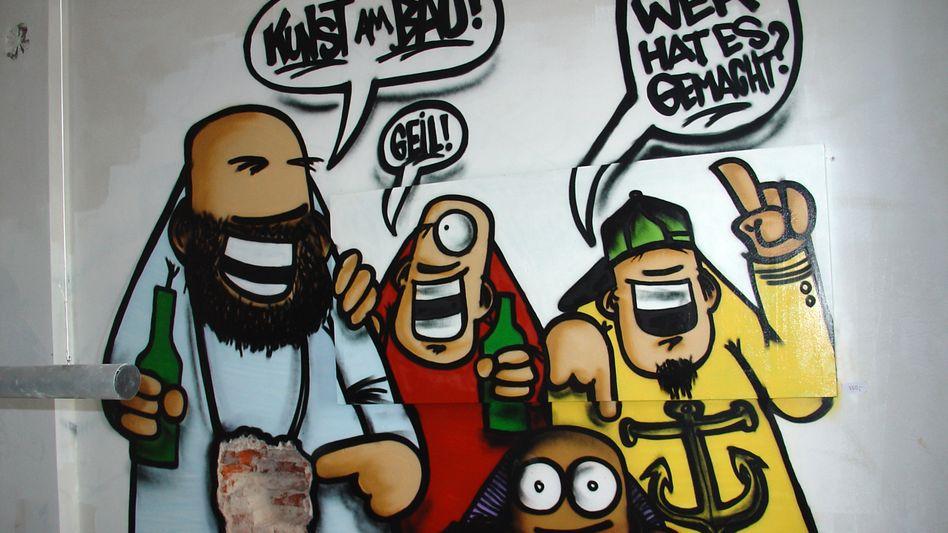 Kunstaktion im besetzten Hamburger Gängeviertel: Konflikt könnte beigelegt werden