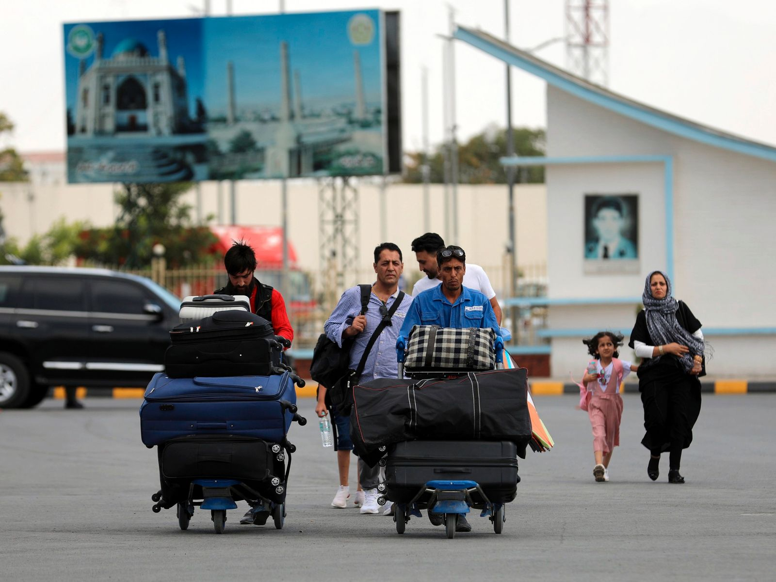 Afghanistan - Flughafen Kabul