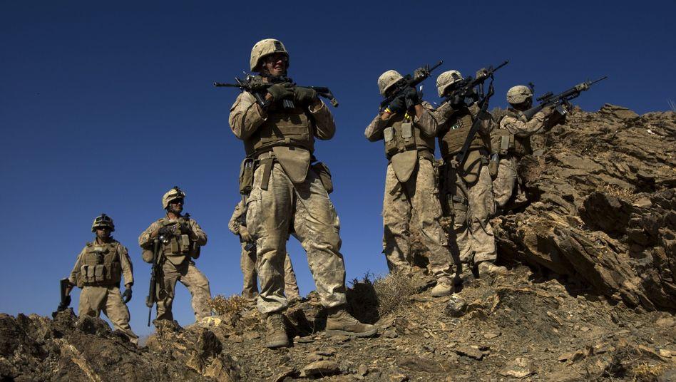 US-Soldaten (bei Offensive im September): Massive Angriffe im Gebiet der Bundeswehr