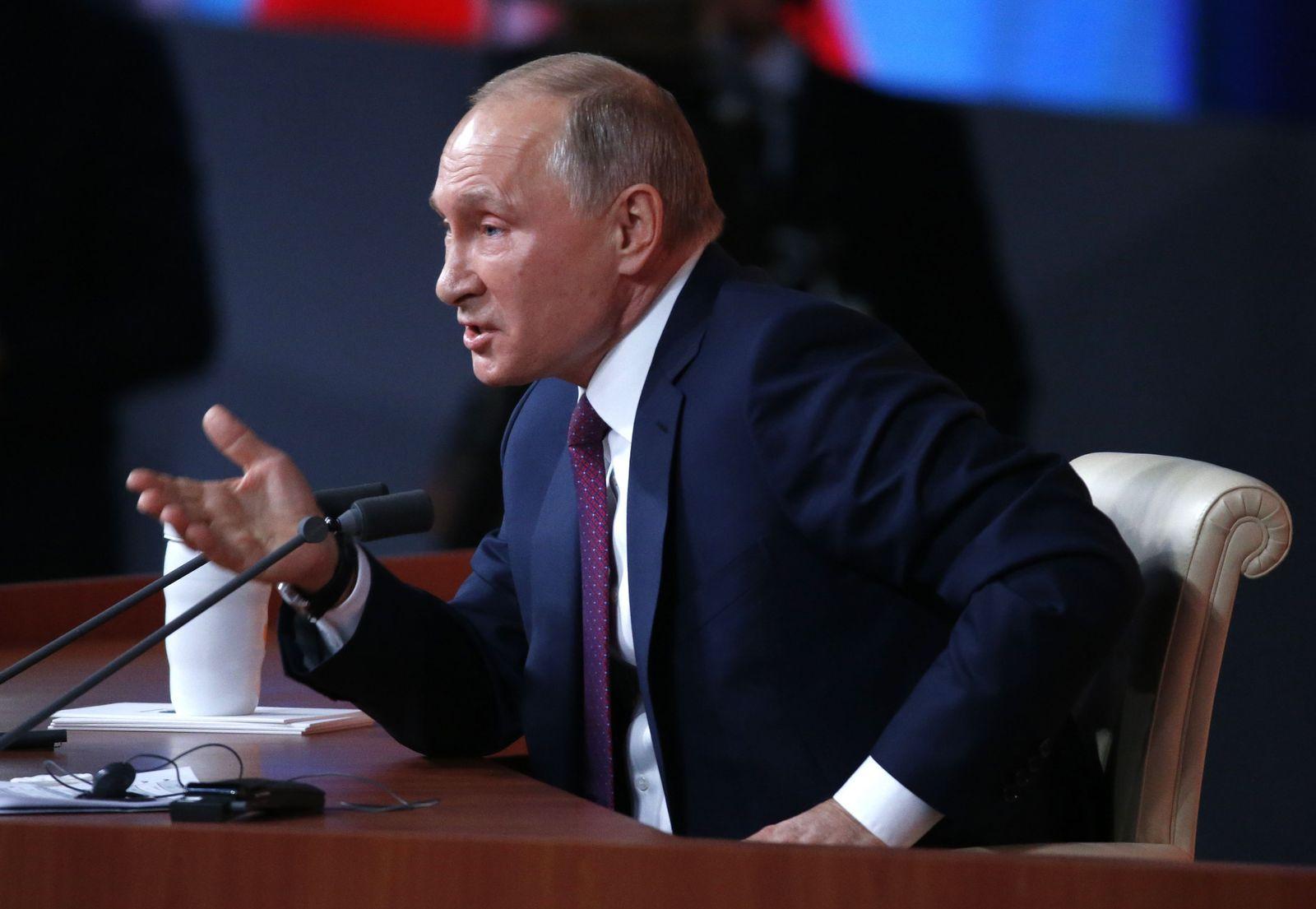 Putin Pressekonferenz
