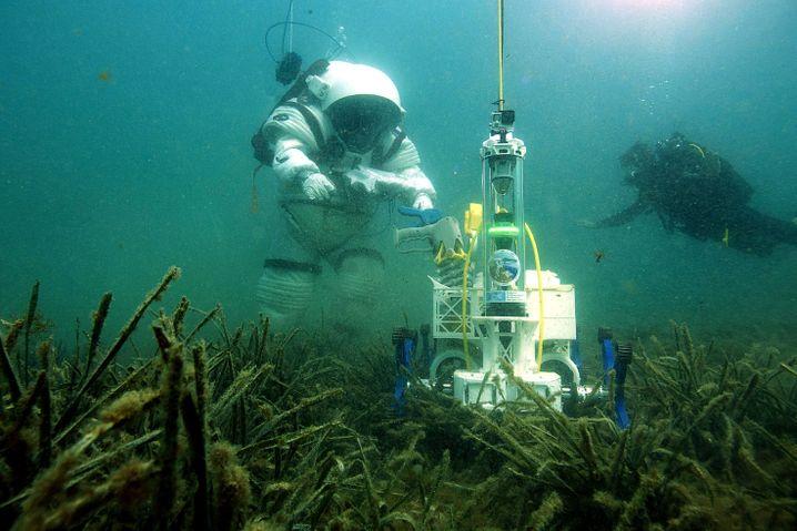 Unterwassereinsatz im Mittelmeer bei Marseille