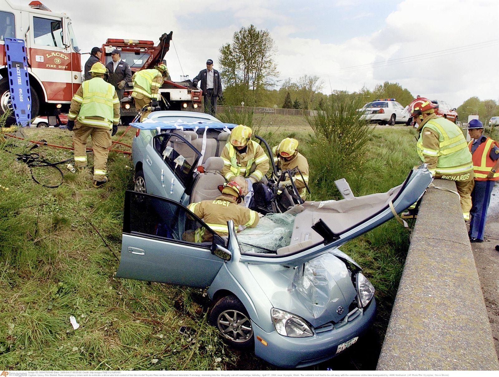 Toyota Prius Unfall