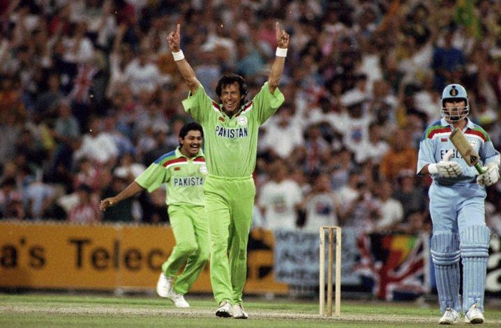 Khan nach dem WM-Sieg 1992