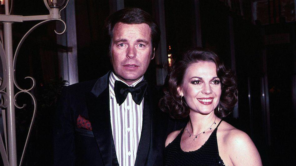 Rätselhafte Todesursache: Natalie Wood mit Ehemann Robert Wagner (Archivbild)