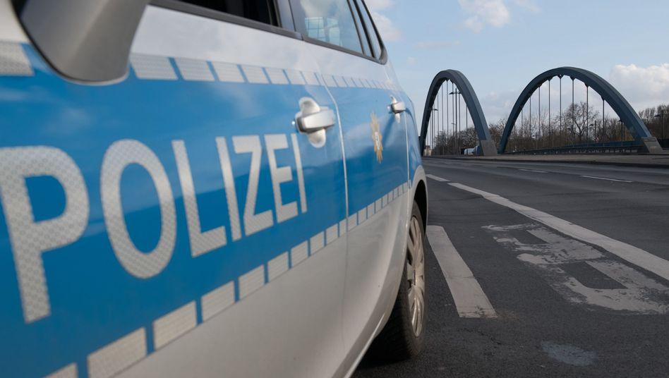 Polizeiwagen in Charlottenburg