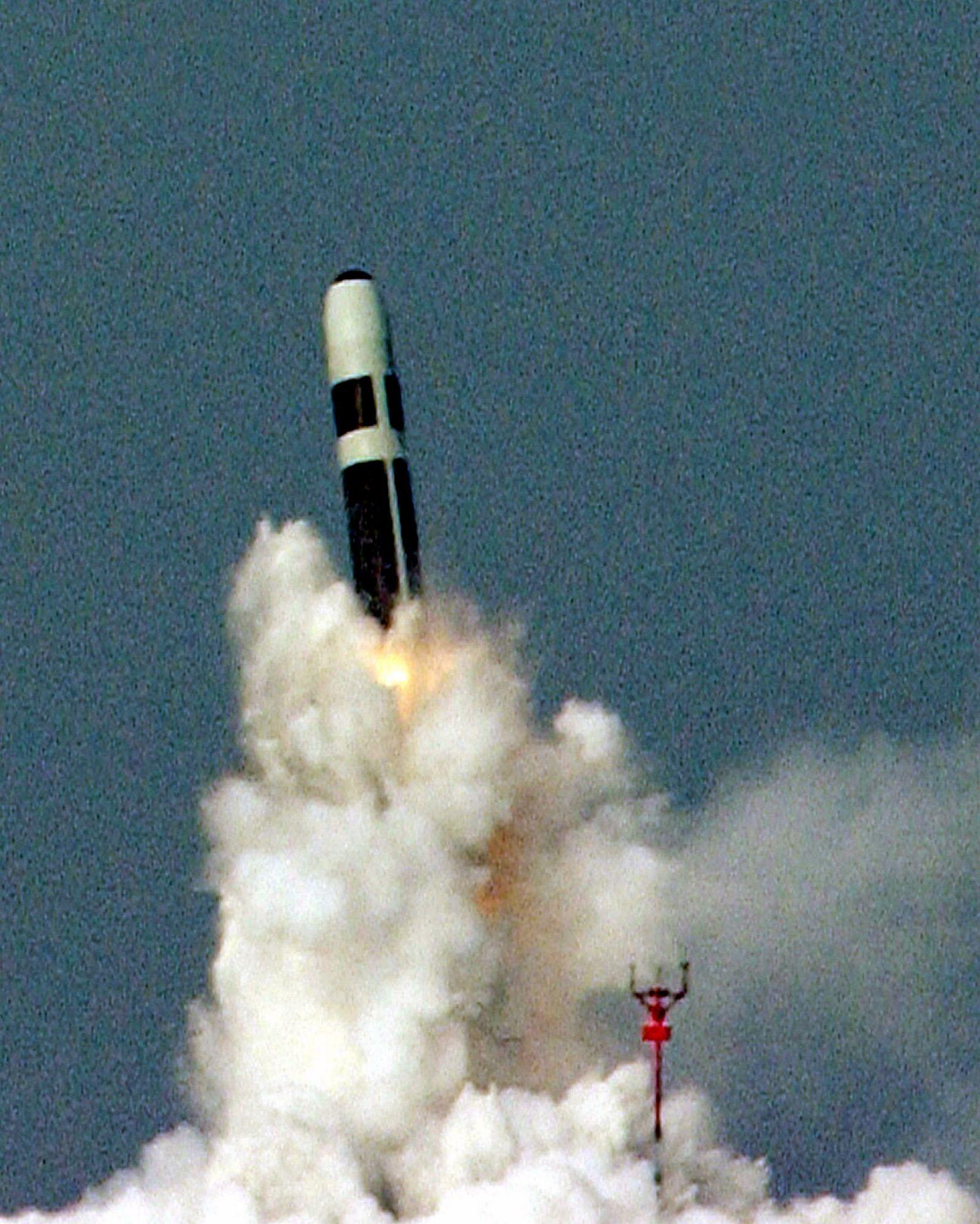 Britisches Militär / Trident Rakete