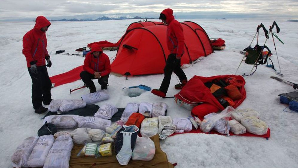 Expedition in Grönland: Kein Ersatz für die Pulkas