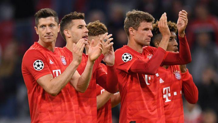 Champions League: So siegten die Bayern gegen Belgrad
