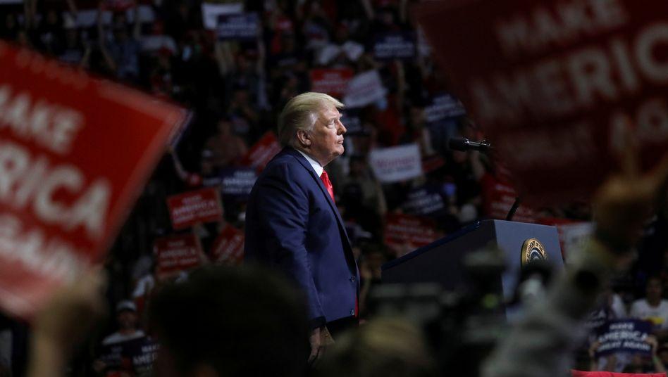 Donald Trump (am 20 Juni in Tulsa): Die Kritik aus den eigenen Reihen wird lauter
