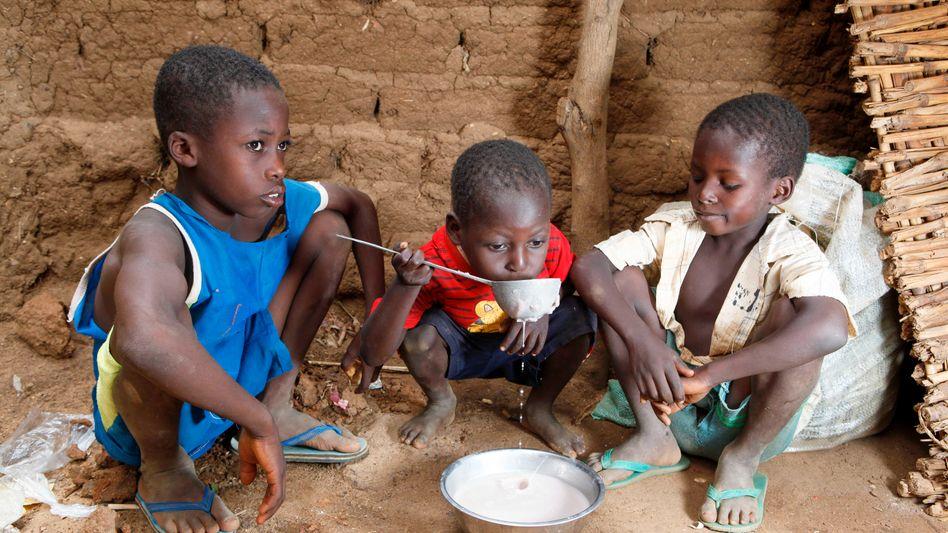 Kinder im westafrikanischen Staat Niger