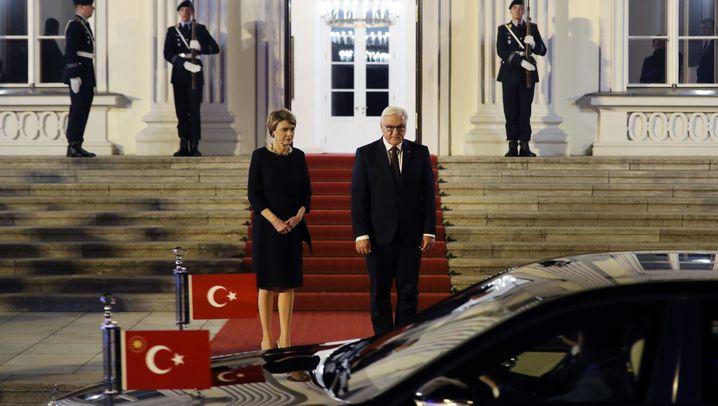 Staatsbankett: Besuch von Erdogan im Schloss Bellevue