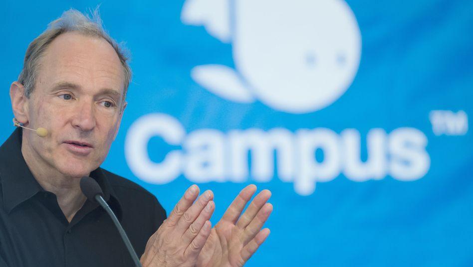 Der Erfinder des World Wide Web: Sir Tim Berners-Lee in Berlin