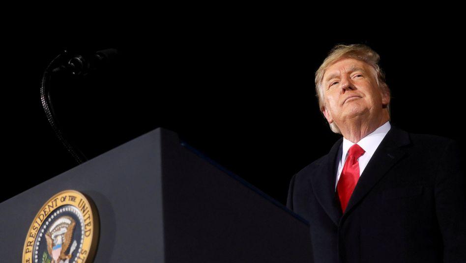 Hat sich nach Ansicht zahlreicher Senatoren nicht der »Anstiftung zum Aufruhr« schuldig gemacht: Ex-US-Präsident Donald Trump