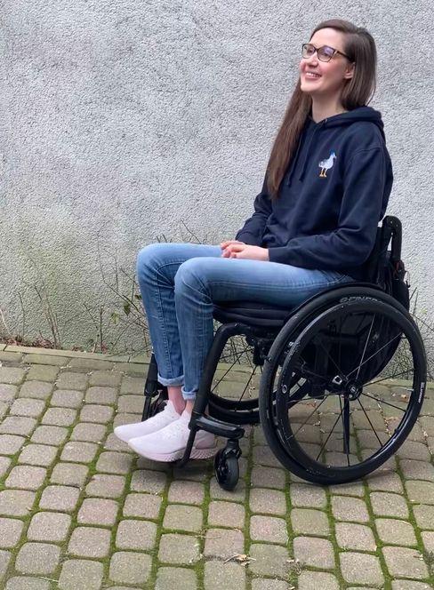 Lisa Albrecht: »Es zählen nicht nur meine Fähigkeiten, sondern auch mein Rollstuhl«
