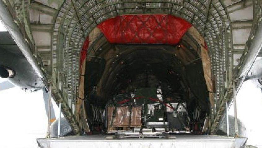 Beladene Transall für Mali