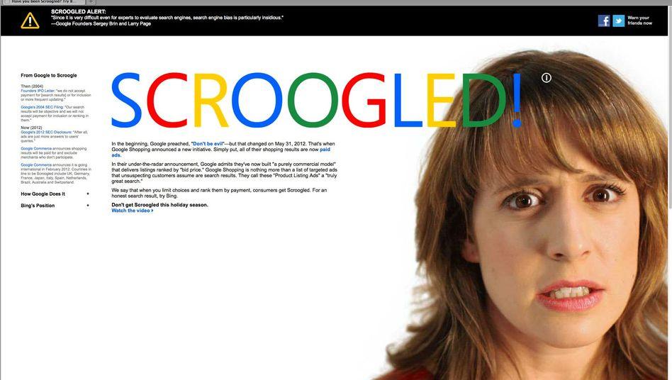 "Microsoft-Kampagne ""Scroogled"": Angriff gegen Google"