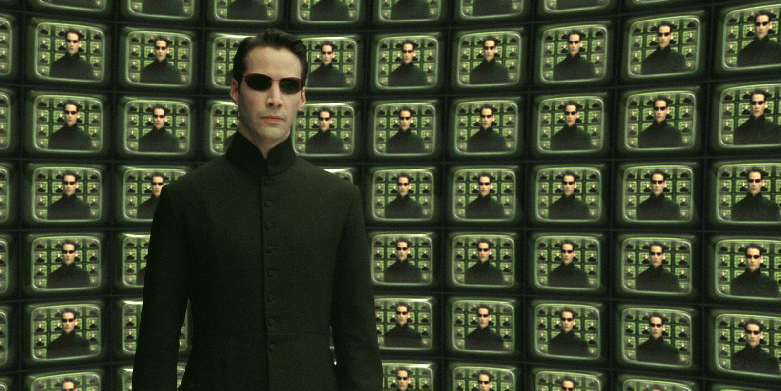 EINMALIGE VERWENDUNG Matrix/ The Matrix Reloaded/ Filmszene