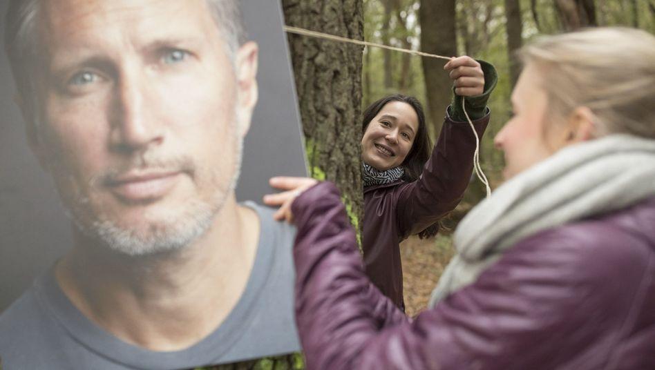 Ein Porträt des Schauspielers Benno Fürmann im Hambacher Forst