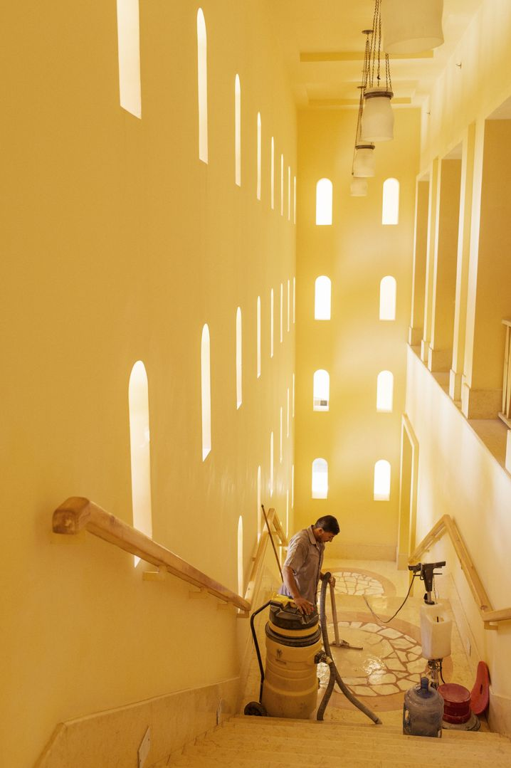 Renovations at the Taba Heights Resort in Egypt