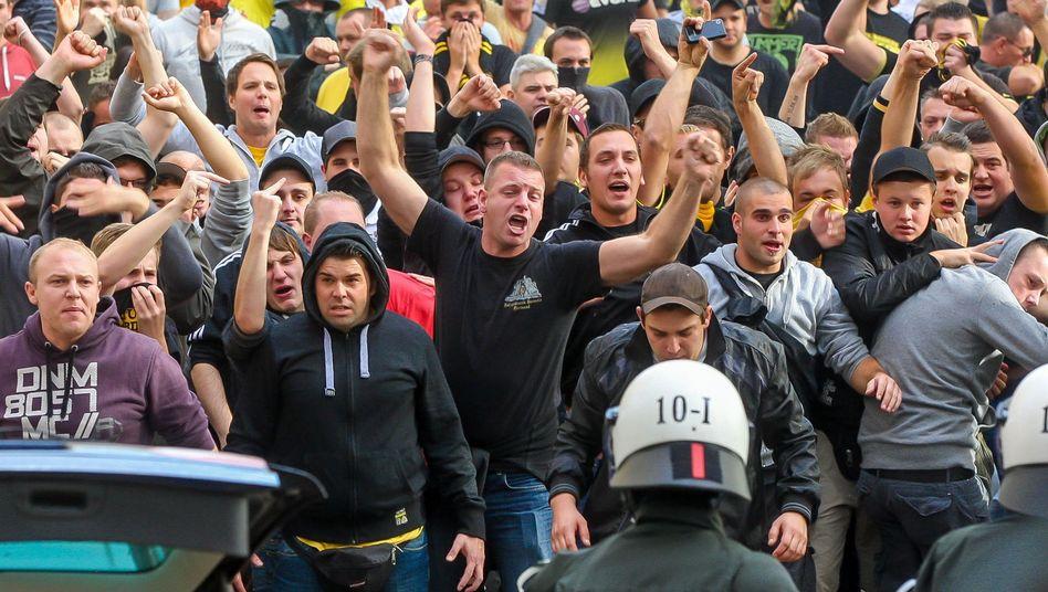 Anhänger von Borussia Dortmund: Diskussionen rund um das Positionspapier