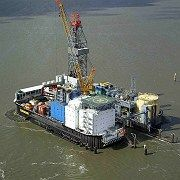 RWE's Mittelplate is Germany's only offshore oil platform.