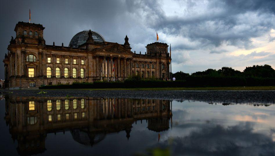 Reichstag in Berlin: Inflationsdebatte erstaunlich platt