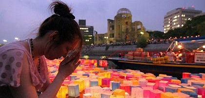 """Peace Memorial Park in Hiroshima: """"It didn't take the actual experience of Armageddon to spur the international regulation of national arsenals."""""""