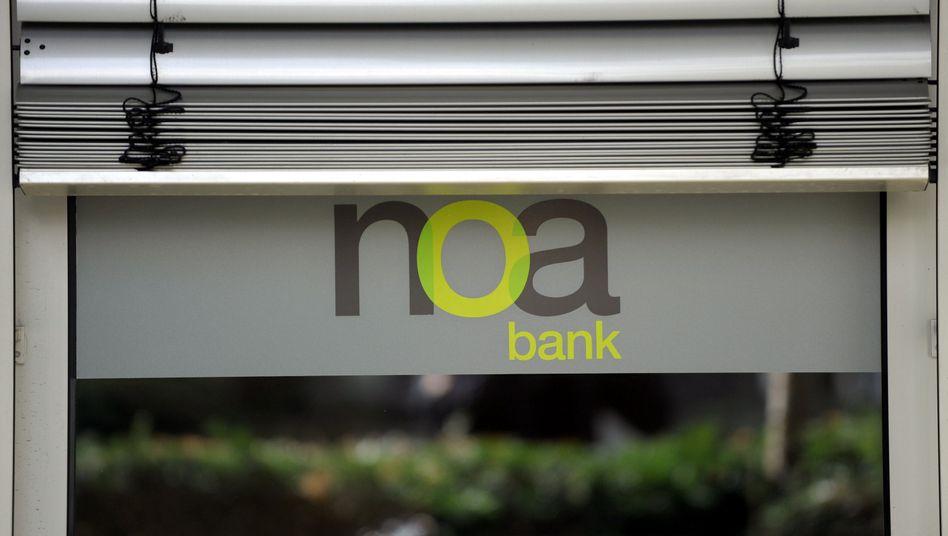Filiale der Noa Bank in Düsseldorf: Geschäftsmodell gescheitert