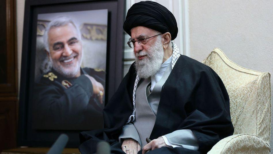 Bezeichnet die USA als Feind: Irans Staatsoberhaupt Ali Khamenei