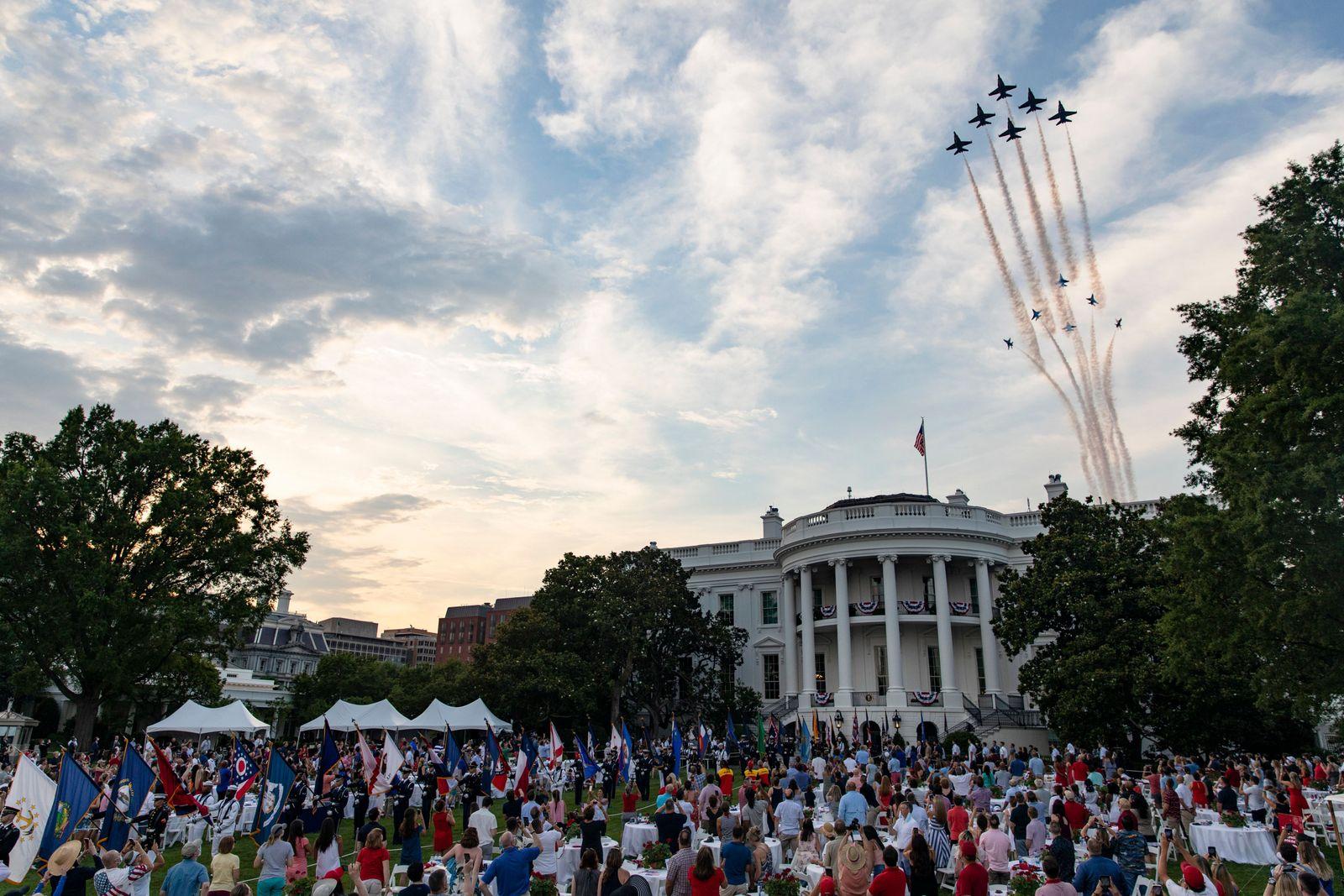 The 2020 Salute to America celebration at the White House, Washington, USA - 04 Jul 2020