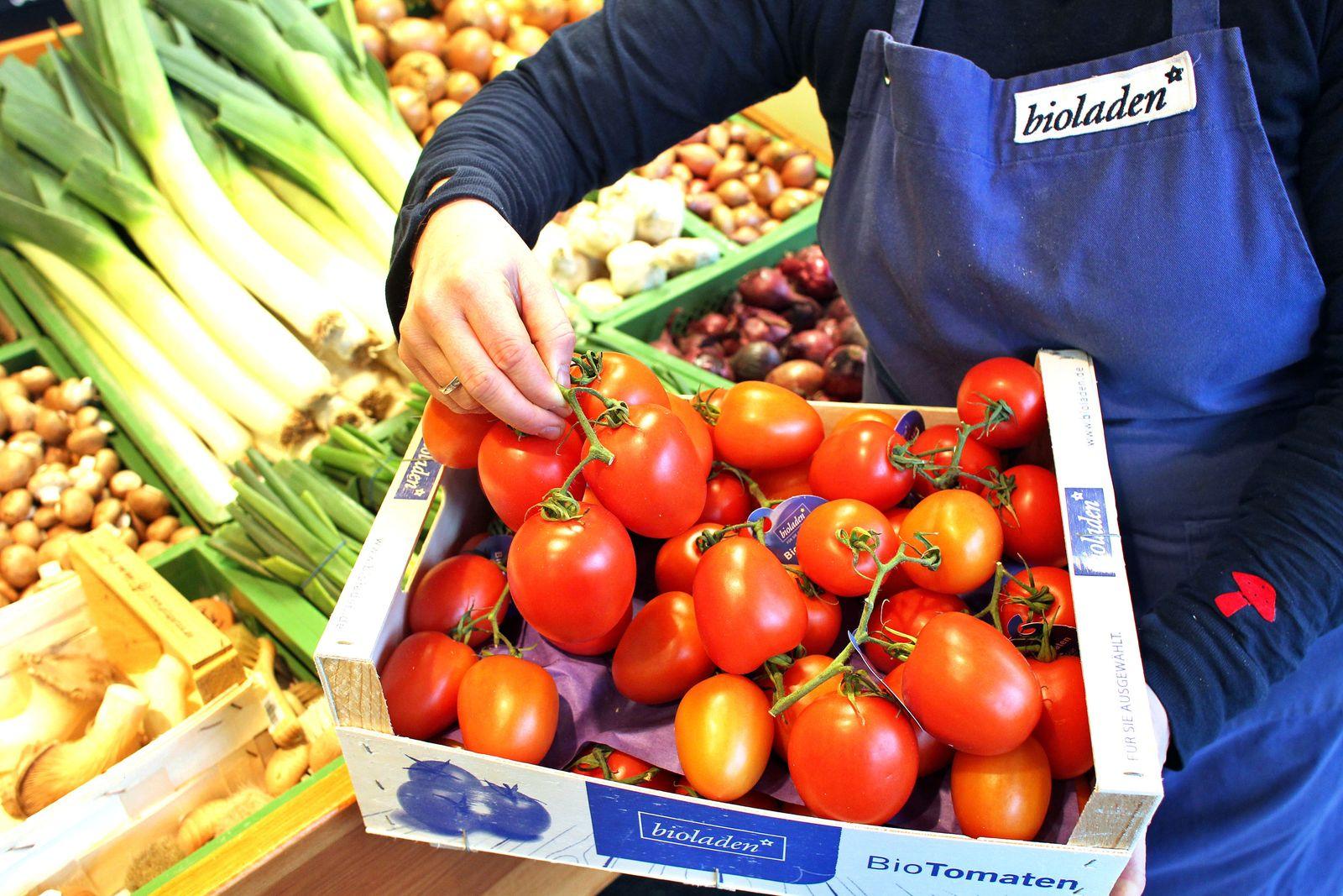 Biosupermarkt Mitarbeiter Bio Supermärkte