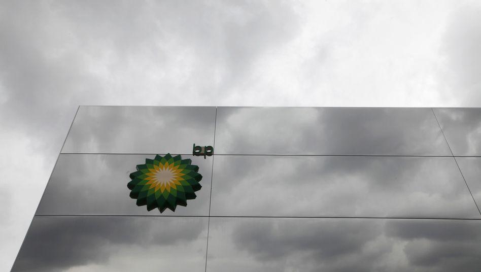 BP-Logo in London: US-Prozess könnte für den Ölkonzern teuer werden