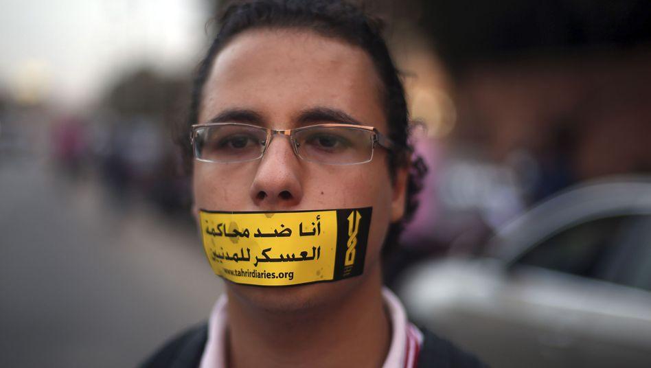 """Unterstützer der Jugendbewegung 6. April: """"Das brutale Regime ist zurück"""""""